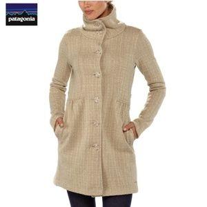 "Patagonia ""Better Sweater"" long fleece coat"